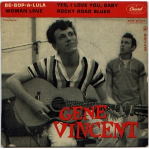 GENE VINCENT BE-BOP-A-LULA SLEEVE