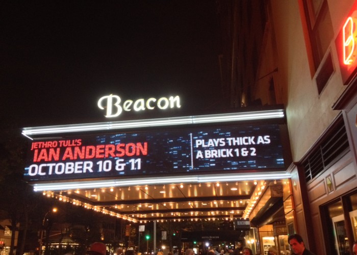 Brick Layers: Ian Anderson Cements a Pair of Great-Sounding TAABs at the Beacon Theatre