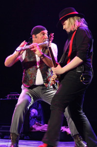 Ian Anderson and guitarist Florian Opahle set the tone. Photo by Martin Webb.