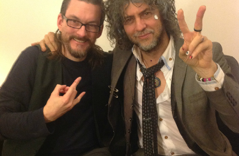 Flaming Lips Frontman Wayne Coyne Finds His Groove on Vinyl