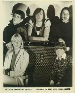 Vox in Furs: An early Velvet Underground publicity still. Reed is in black (of course), top left. Photo courtesy the Universal Music Archives.