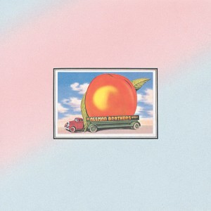 ALLMAN BROTHERS BAND EAT A PEACH COVER ART