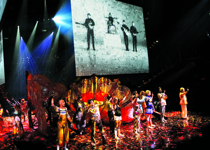 All You Need Is LOVE: The Beatles' Revolution Lives on at The Mirage in Las Vegas