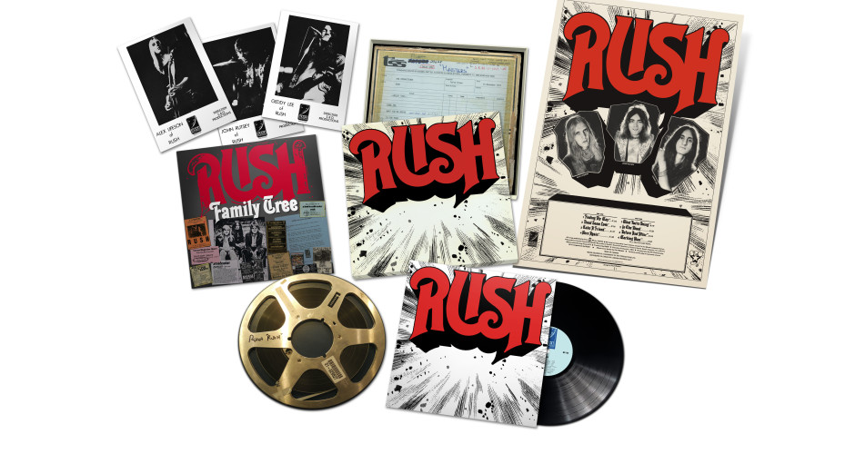 What They're Doing: Rush Set to Re-release Self-Titled Debut Album on 200-Gram Vinyl