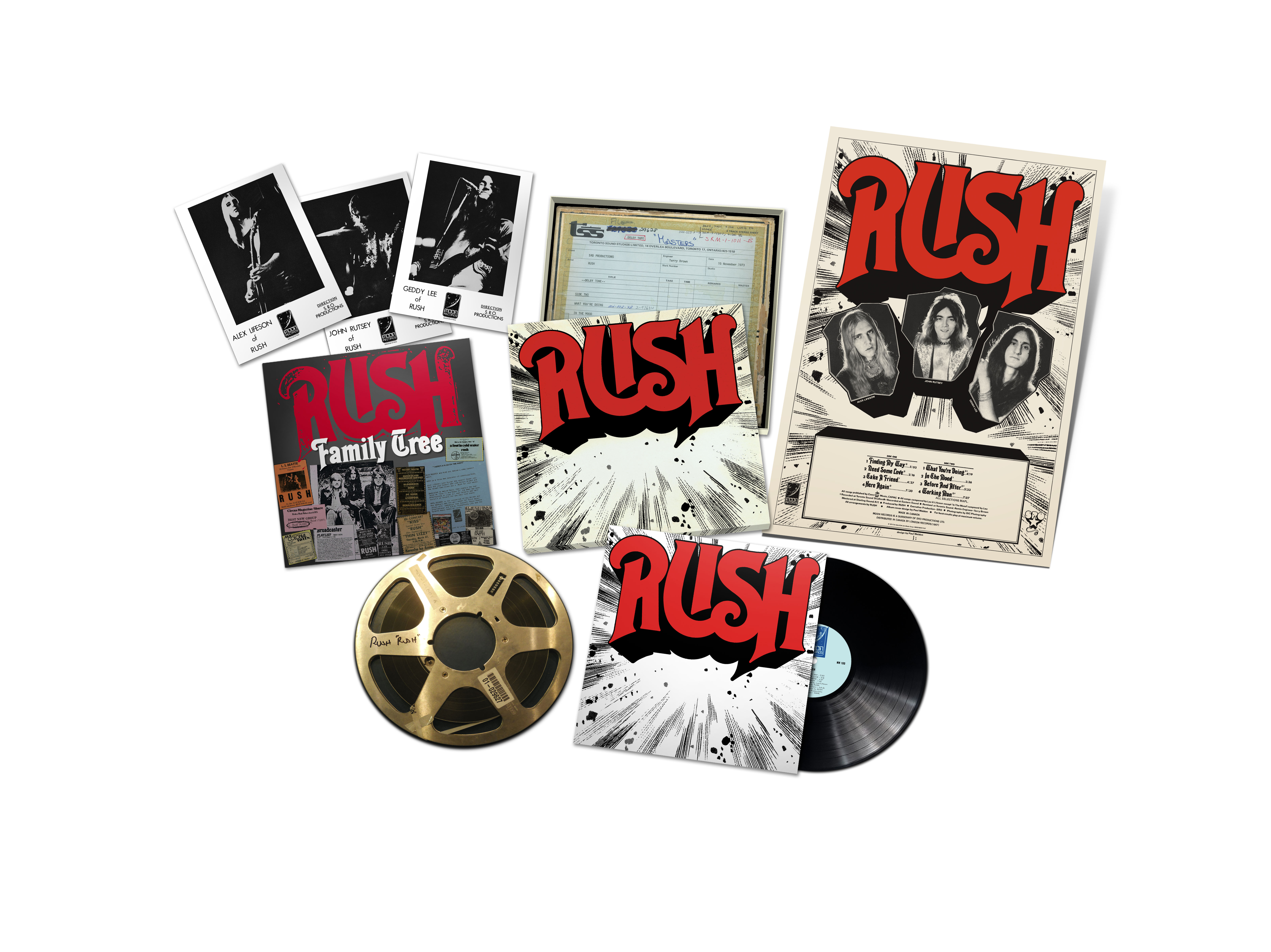 What They Re Doing Rush Set To Re Release Self Titled