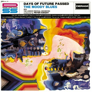THE MOODY BLUES _ DAYS OF FUTURE PASSED COVER