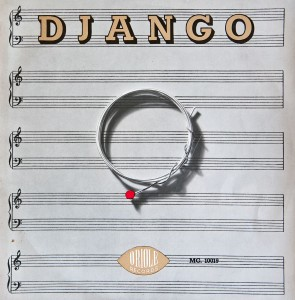 DJANGO GUITAR STRING COVER ART