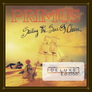 PRIMUS _ SAILING THE SEAS OF CHEESE - DELUXE EDITION _ COVER ART