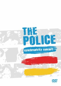 THE POLICE _ SYNCHRONICITY CONCERT DVD COVER ART
